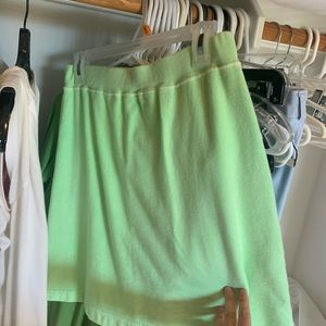 Fresh Produce Skirt Green Small